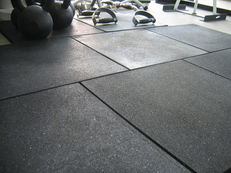 15 mm colorful gym sport SBR EPDM rubber floor tiles mat