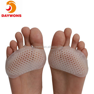 Metatarsal Pads Honeycomb front palm sleeve front palm pad silicone high heels insoles Toe Straightener for Foot Pain Relief