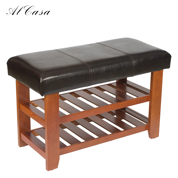 Remarkable High Quality Solid Wood And Pu Leather Shoe Organizer Storage Racks Bench For Entrance Hall Buy Shoe Bench With Seat Shoe Storage Bench Shoe Squirreltailoven Fun Painted Chair Ideas Images Squirreltailovenorg