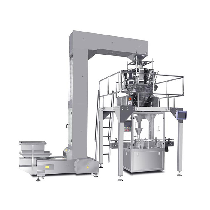 Granules Filling Machine And Packaging Production Line