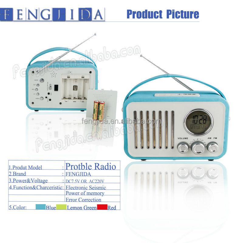 Portable Mini Usb Am/fm Radio Speaker Music Player Sd/tf Card For ...
