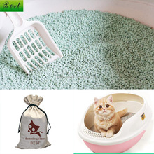 bentonite clay kitty litter sand with fragrance