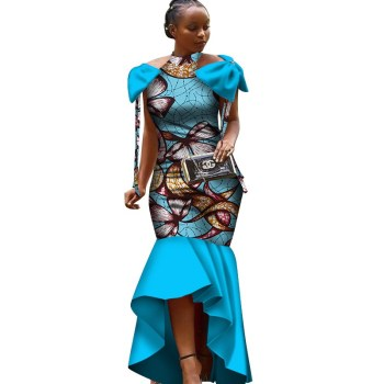 Plus Size Women Clothing Maxi Dress Dashiki African Summer Dress For
