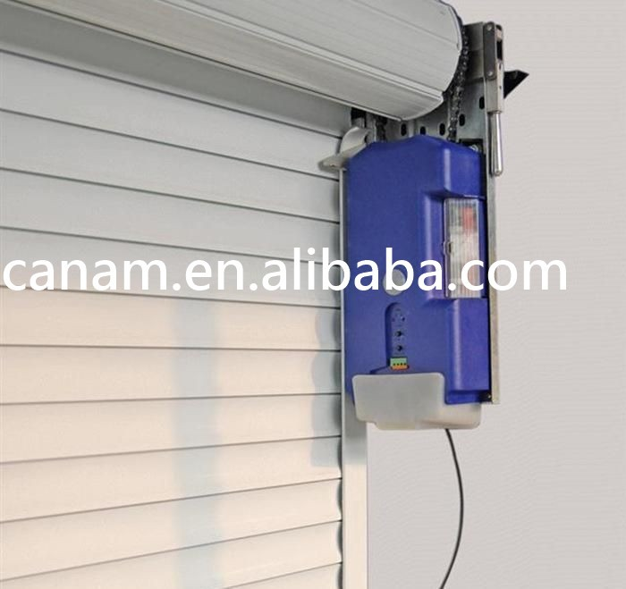 Automatic PVC High Speed Rolling Shutter Industrial Door