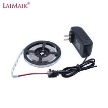 LAIMAIK Светодиодная лента 12 В smd 2835 60 светодиодов/м 1 м 2 м 3 м 4 м 5 м Светодиодная гибкая лента для украшения светодиодных лент DC12V источник питани...(Китай)