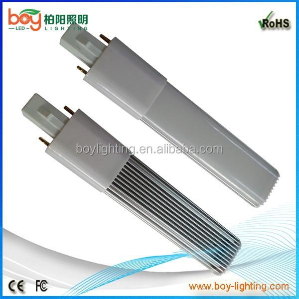 Slim 2700k 4000k 6000k Plug Led Light G23 6w Pl Lamp