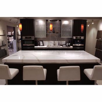 Artificial Quartz Stone Top Dining Tables Sparkle Solid Surface
