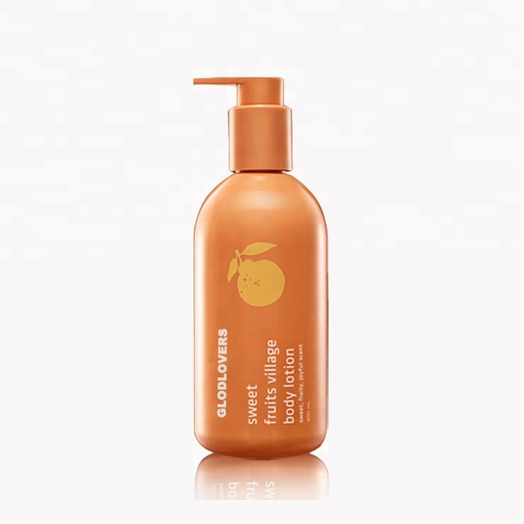 Private label Fruitige skin whitening body lotion