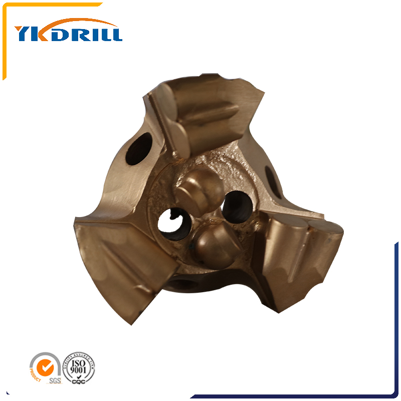 PDC drill bit for coal mining rock  geological drilling water well drilling tunnel construction coal mine tools