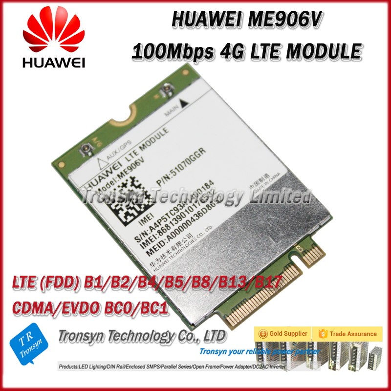 Brand New Original Unlock 100Mbps ME906V 4G LTE Module And LTE Wireless WiFi WLAN Card