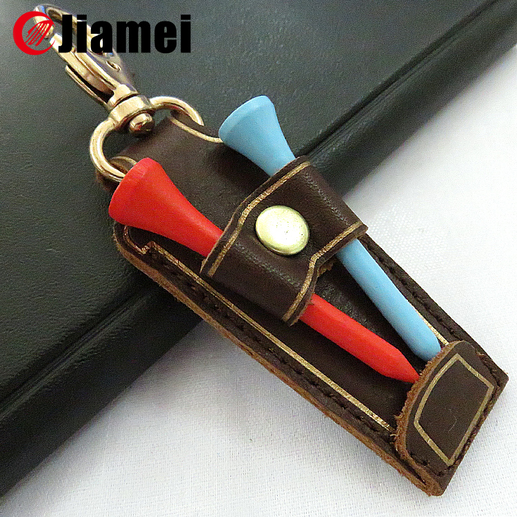 Promotional Customized Shaped Folding wholesale Luxurious genuine leather keychain