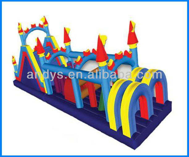 Hot-selling!! inflatable obstacles sports game