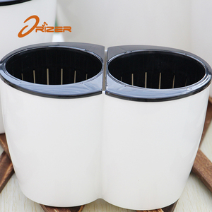 New trend product self watering floral pots hydroponic flowers pots for outside