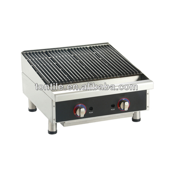 Commercial Hotel Kitchen Cooking Machines Food Roasted Oven Ss Barbecue Grill Buy Restaurant Gas Lava Rock Grill Table Top Gas Lava Rock