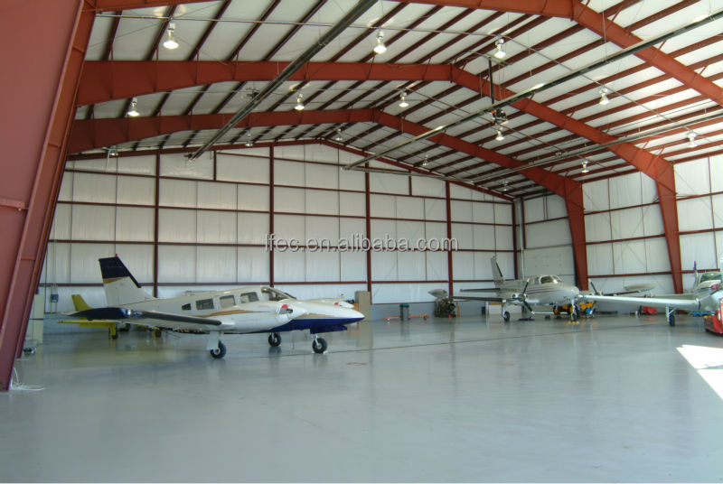 Steel Structre Construction Building Airplane Hangar