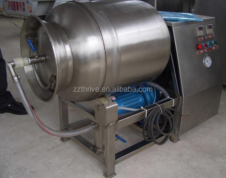 300L 500L vacuum pickled meat tumbling machine,vacuum canned meat tumbler