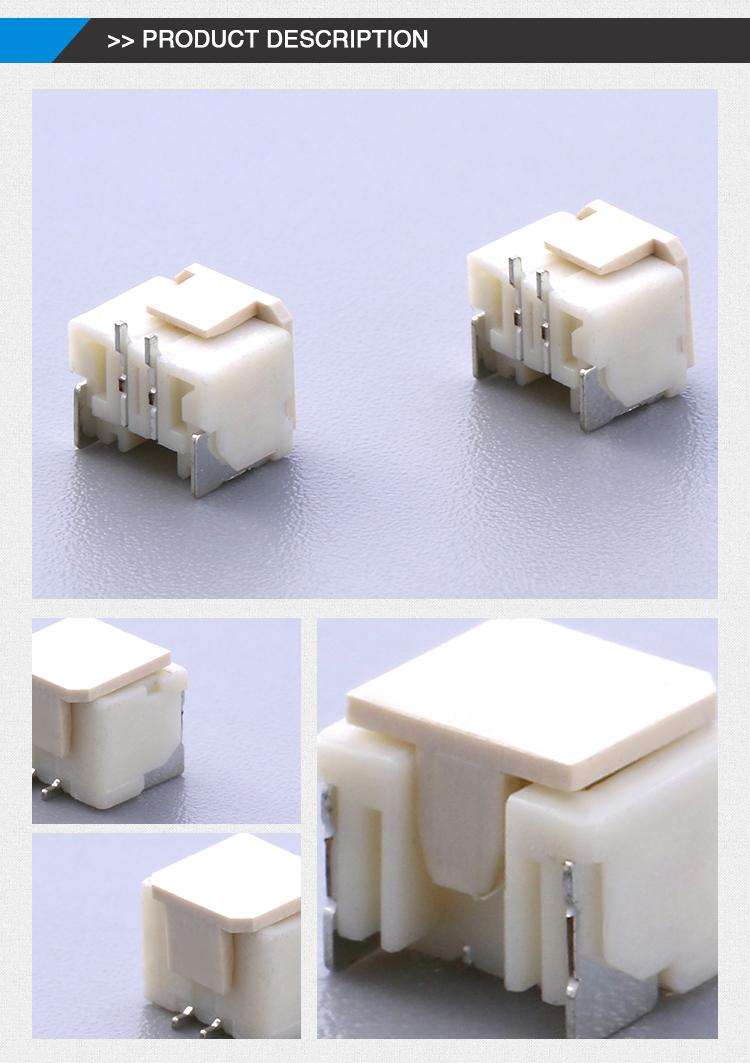 SMT wafer connector