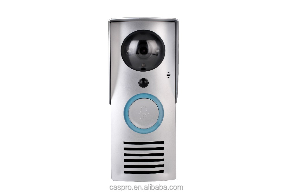 Smart Wireless Doorbell with Video Viewer Camera for Home Security Monitoring 2- Way Audio Cloud Storage