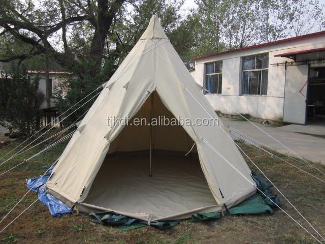 New Design Cotton Canvas Tipi Tent Indian Tipi Tent 4m