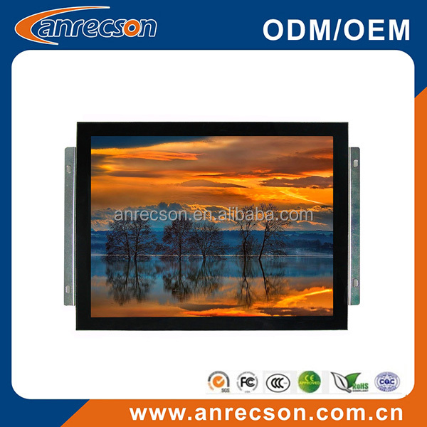 "Outdoor 15"" inch PCAP touch kiosk LCD monitor"