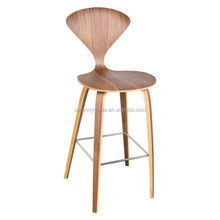 75cm Popular bentwood side chair Norman cherner replica bar stools