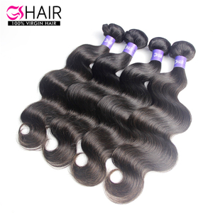 Indian hair 4pcs/lot for black women human hair extensions
