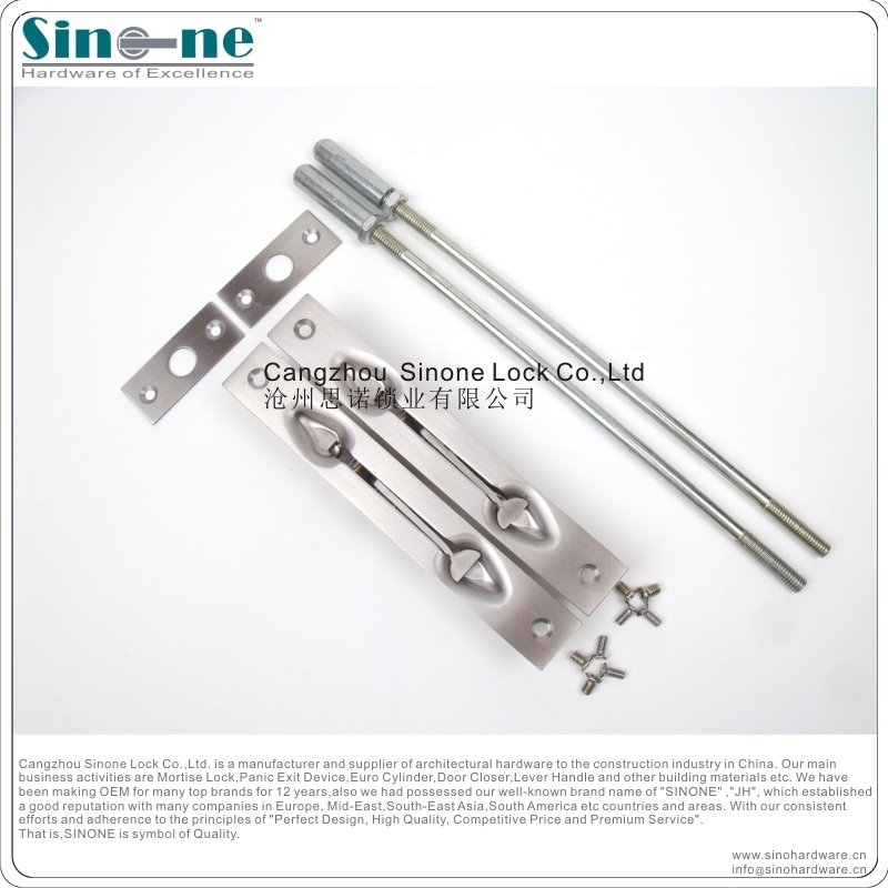 Ss Flush Bolt For Double Metal Doors Germany Quality Fire