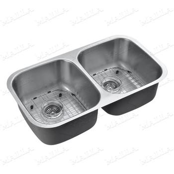 Double Bowl Stainless Steel Kitchen Sink - Buy Kitchen Sink,Kitchen ...