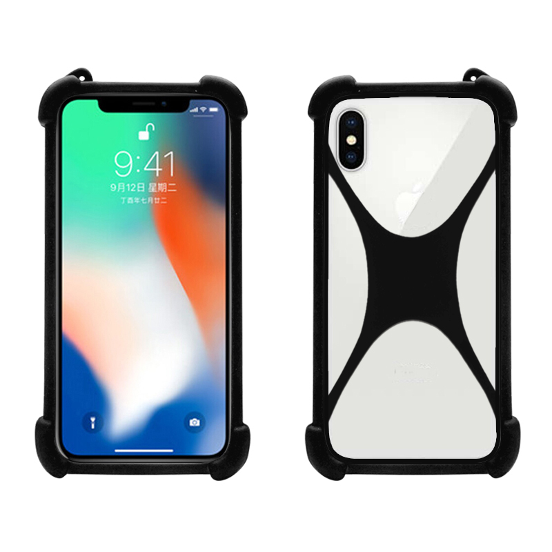 silicone universal phone <strong>case</strong> for cell phones