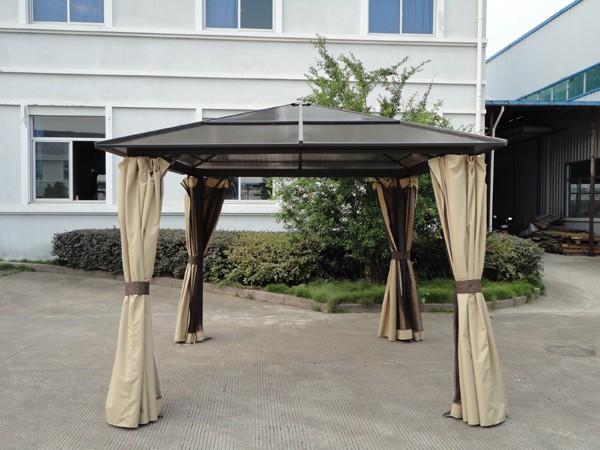 Gazebo professionale per esterno m in alluminio gazebi