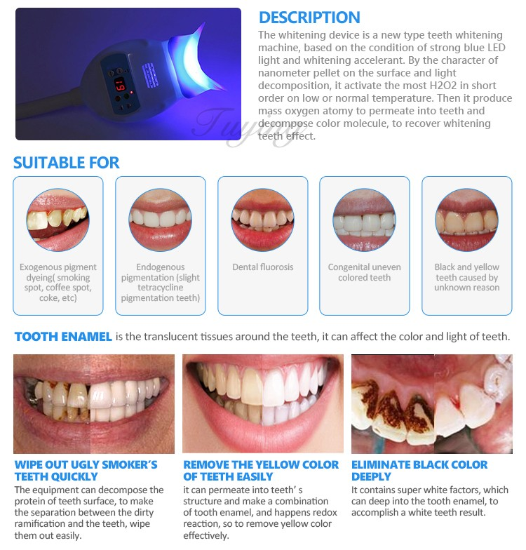 whitening products blue dental healthy personal care teeth light digital white oral for grande kit