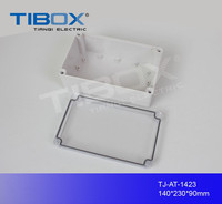 TIBOX IP66 Protection waterproof dustproof IP66 small clear plastic box/ Electronic & Instrument Enclosures
