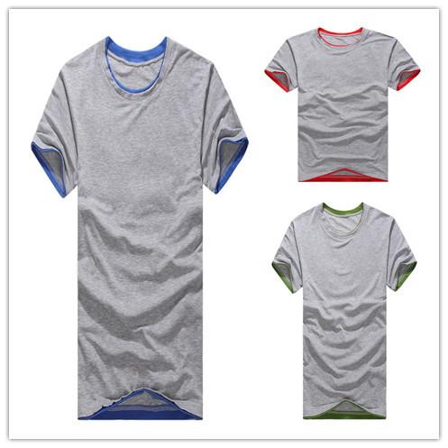 8d0740ded Get Quotations · Good Quality 100% Cotton Plus Size Men T-shirts Men Summer  Sport Suit Short