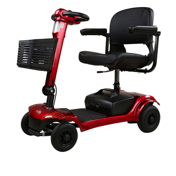 2018 Comfortable Elderly Electric Scooter with suspensions, mobility scooter in handicapped scooters