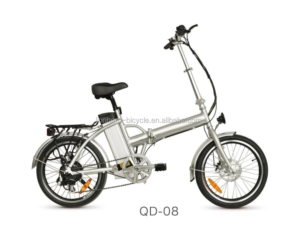 20 inch Aluminum Alloy Rim Material mini electric folding bike
