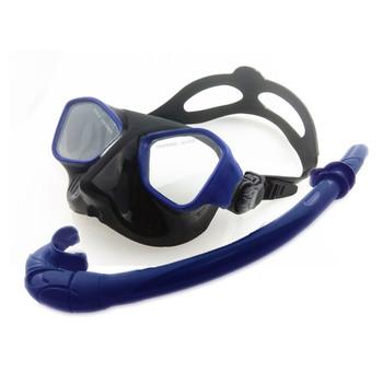 609cdfa4d Conjunto Máscara de mergulho e Snorkel Set para Adultos-Anti-Fog de Vidro