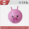 cute animals logo hopper ball jumping ball with grips costumes for kids