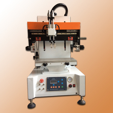 Auto label silk screen printing machines Mini desktop screen printing machine with vacuum