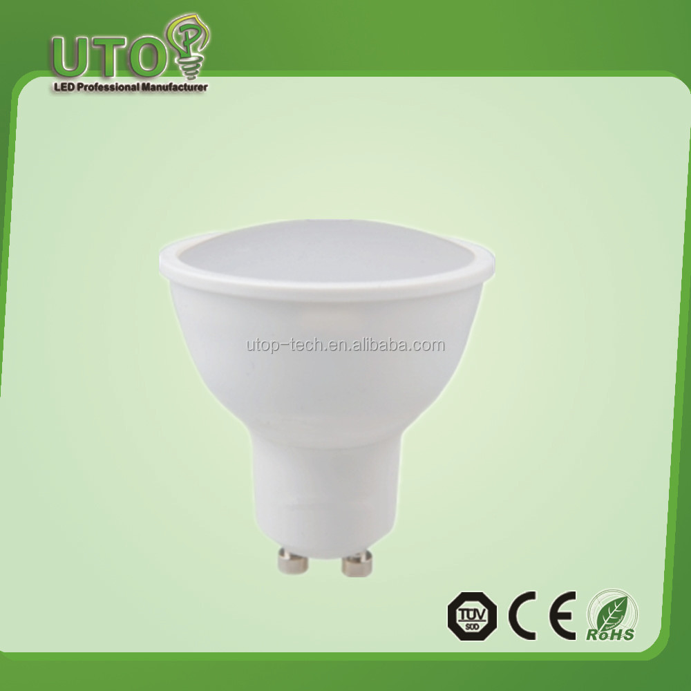 UTOP Brand AC185-265V CE ROHS led spotlight MR16
