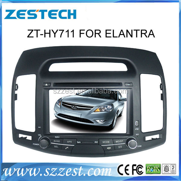 "ZESTECH Digital TV radio Dvd gps player 7"" car TV for Hyundai Elantra car TV Korean Version"
