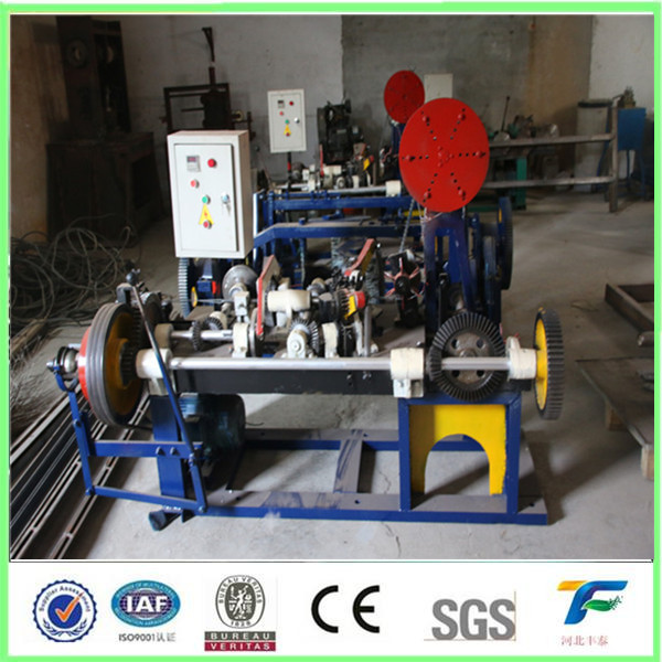 2016 hot sale automatic plactic Barbed wire machine manufacturer