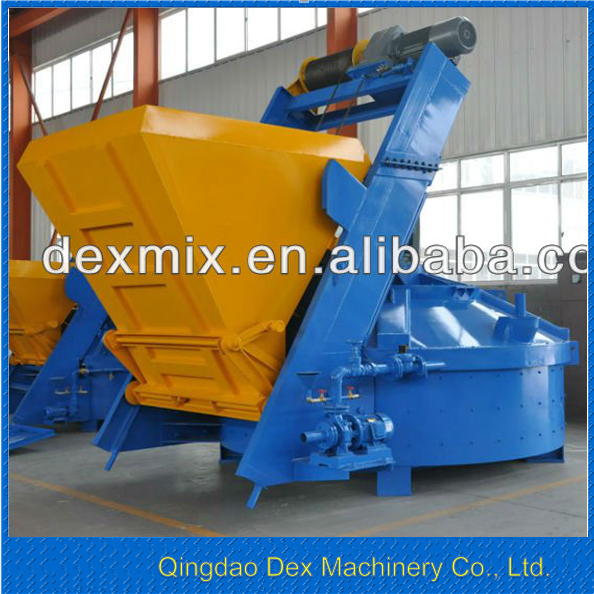 China good brand 2m3 self loading MPC2000 concrete brick mixer