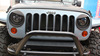 Jeep Wrangler head lamp cover, steel material lamp cover fir for offraod accessories