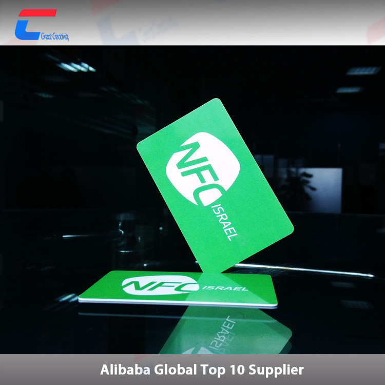 Rewritable topaz512 business rfid paper card buy rfid for Rfid business cards