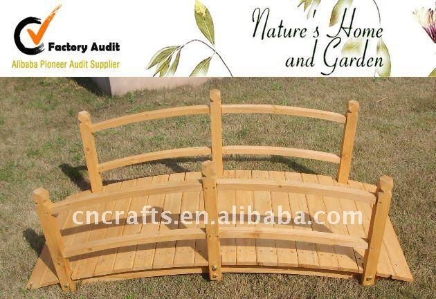 Puentes paisaje del jard n jard n puentes de madera - Arcos de madera para jardin ...