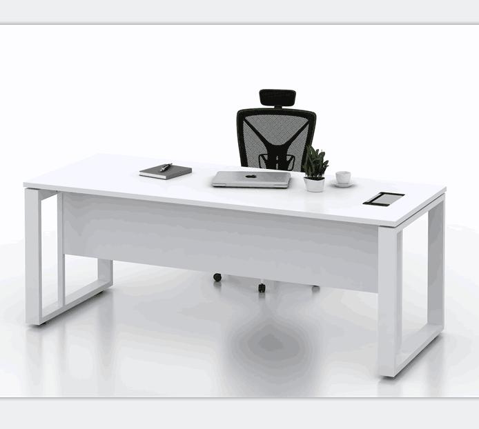 Modern White Office Desk Work Table