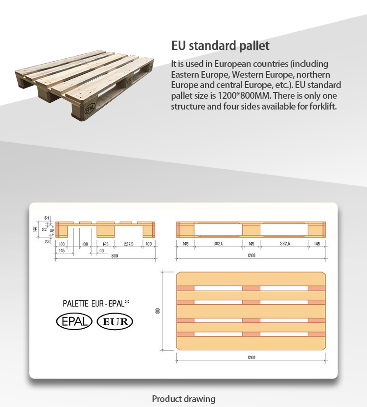 EU Wood Pallet for shipping/transportation