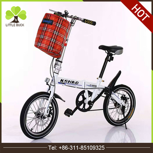 Customized logo and decal New design 20 inch foldable bike 7 speed high quality folding bike pocket folding bicycle in China