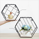 Office wall mounted hanging mesh metal wall organizer