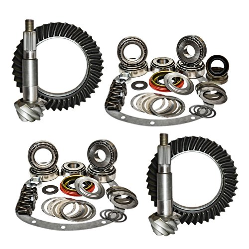 GPXJ825-4.11 8.25 Front and Rear 4.11 Ratio Gear Package Kit for Jeep Cherokee XJ with Dana 30 Reverse//Chrysler Nitro